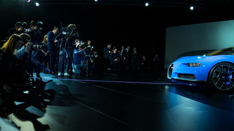 Bugatti  Chiron  Worldpremiere 2016  Milla  Event 07