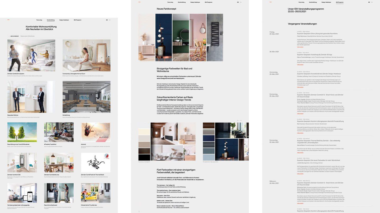 Milla Website Zehnder Ish Screenshot Desktop 001 210421 Fhl